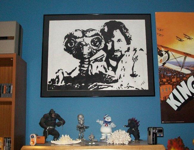 ET & Steven Spielberg